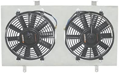 Mishimoto MMFS-S13-89SR Performance Aluminum Fan Shroud Compatible With Nissan 240sx S13 1989-1994 Silver