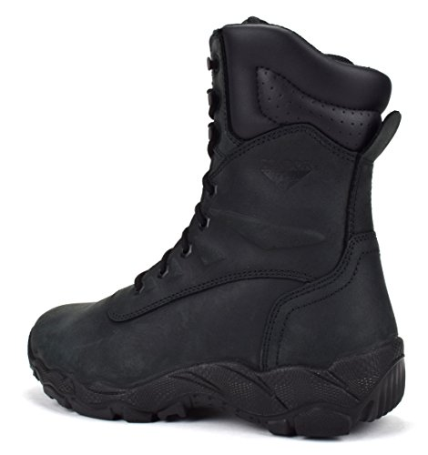 CONDOR Dakota Mens 8 Steel Toe Work Boot Black 7vlGqAQ
