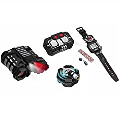 "The SpyX Recon set is the ultimate set for your recon missions.  Set includes: Night Nocs (see far away, even in the dark with the attached red or white light)  Voice Disguiser (record your voice and play it back ""twisted"")  Recon Watch (8 fu..."