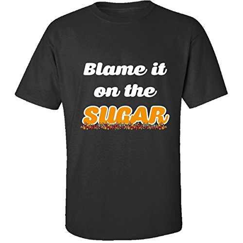 Funny Halloween Costume Blame It On The Sugar Kids Adults - Adult (Sugar Daddy Costumes For Halloween)