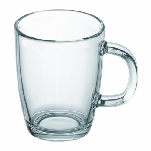 Bodum Bistro Glass Coffee Mug, 0.35-Liter, (0.35l Mugs)