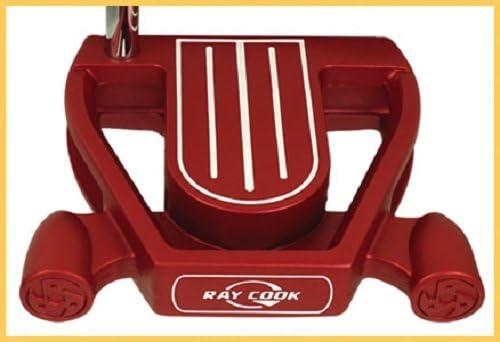 Ray Cook Golf Plata SR500 del Hombre Putter edición Limitada, Rojo, 35