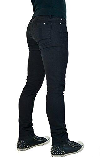 Lip Service Rockers (Lip Service Gothic Punk Rocker Black Stretch Twill Skinny Junkie Jeans Pants (27))