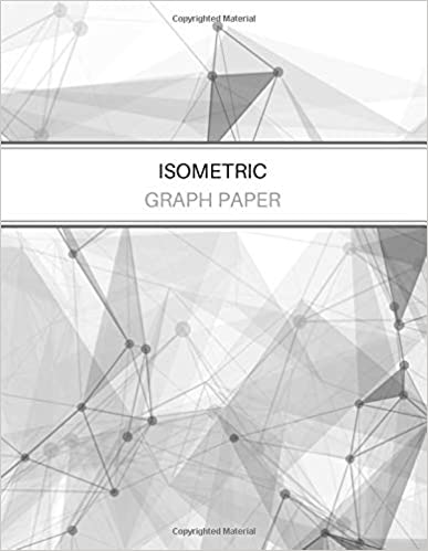amazon com isometric graph paper equilateral triangle grid