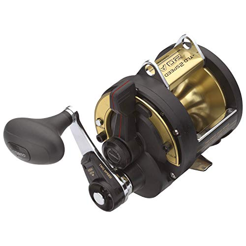 Shimano TLD 50 II A 2 Speed Trolling Multiplier Offshore Fishing Reel, TLD50IIA