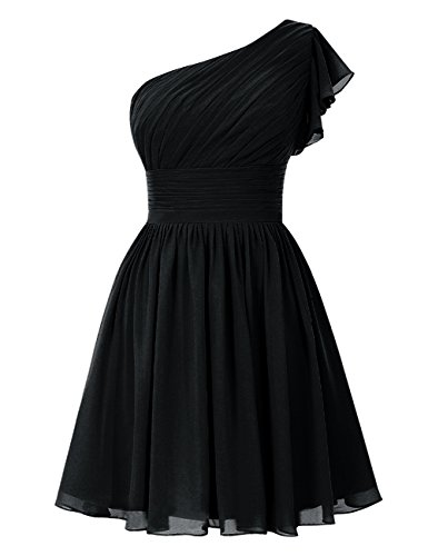 Black Women's Short Line A Party Dresses Bridesmaid Dasior RqFgBwS