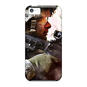 Quality Purecase Case Cover With Modern Warfare 2 Nice Appearance Compatible With Iphone 5c