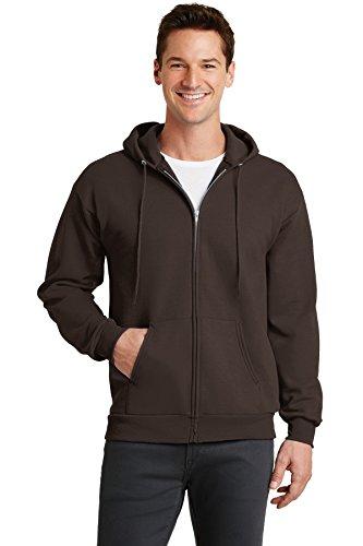 Port & Company - Core Fleece Full-Zip Hooded Sweatshirt. PC78ZH Dark -