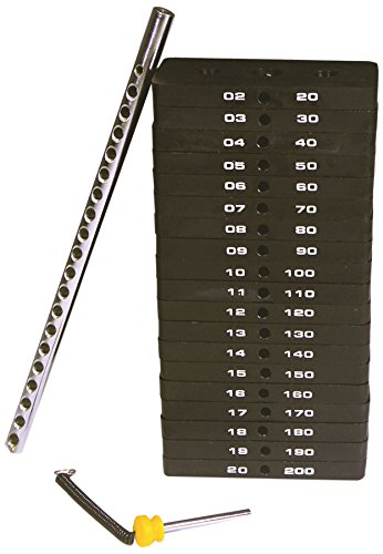 Powertec Fitness Weight Stack, 190-Pound by Powertec Fitness