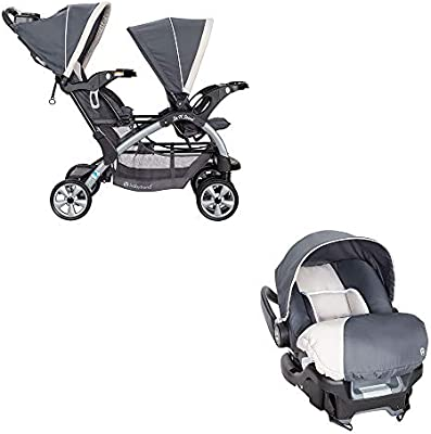 Amazon Com Baby Trend Sit N Stand Lightweight Travel Double