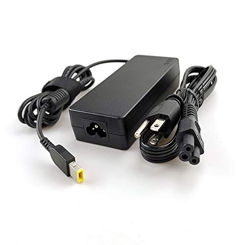 Lenovo Laptop Charger 90W Slim tip AC Power Adapter(Power Supply) with 3 Prong Power Cord for Lenovo ThinkPad Yoga 260 370,T470 T450s T460s T440s T450 E570 X1 Carbon, X1 Yoga 3rd ()