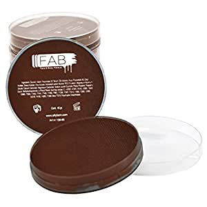 FAB Face Paint - Chocolate Brown 024 (45g)