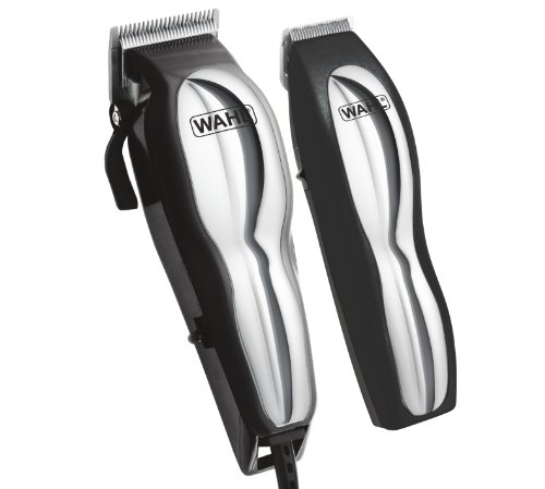 Wahl Chrome Pro 22 Piece Complete Haircutting Kit, 79520-3401 ()