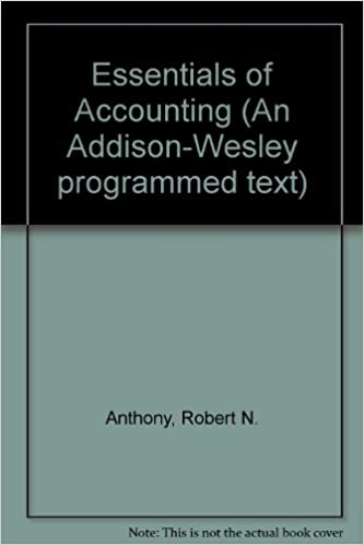 Amazon essentials of accounting 9780201000177 robert n essentials of accounting 4th edition fandeluxe Choice Image