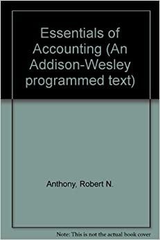 Amazon essentials of accounting 9780201000177 robert n essentials of accounting fandeluxe Choice Image