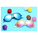 Andy Pansy Sunglasses Polarized for Boys and Girls, Frame UV400 Protection Fishing Driving Running Golf Cycling Glasses