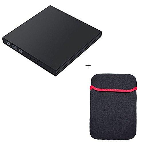 DVD Drive External,Vcall Ultra Slim USB DVD Burner Writer...