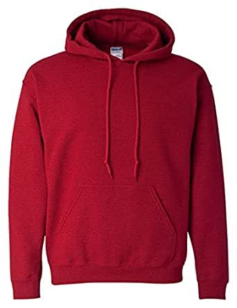 Gildan 18500 - Classic Fit Adult Hooded Sweatshirt Heavy Blend - First Quality - Antique Cherry Red - 4X-Large