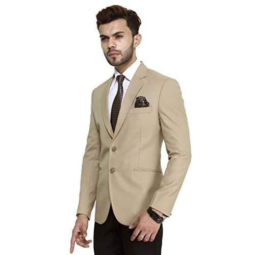 41QmefFQh1L. SS500  - MANQ Men's Slim Fit Formal/Party Men's Blazer