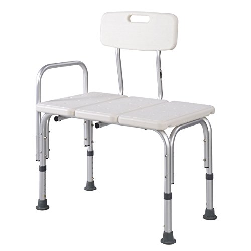 Giantex Shower Bath Seat Medical Adjustable Bathroom Bath Tub Transfer Bench Stool Chair price