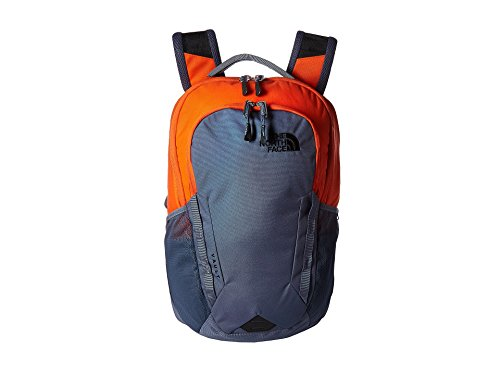 The North Face Vault Laptop Backpack- Sale Colors (Persian Orange/Grisaille