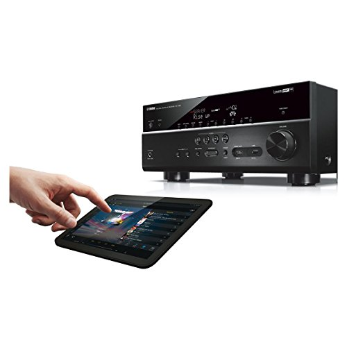 yamaha rx v681 7 2 channel 4k av receiver with wx 030. Black Bedroom Furniture Sets. Home Design Ideas