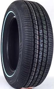 Fuzion Touring Tires >> Amazon.com: 225/60R17 TRAVELSTAR UN106 99T NARROW WHITE WALL 480-A-B: Travelstar: Automotive