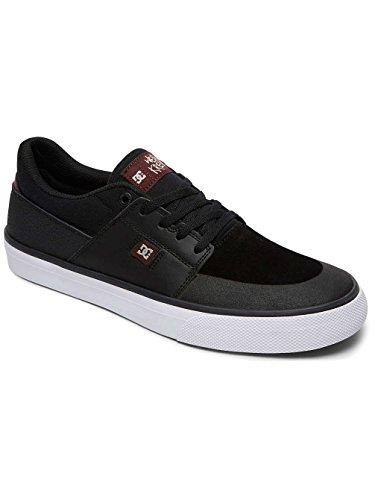 low cost online DC Men's Wes Kremer Skateboarding Shoe Black Oxblood visit new sale online Qi4Us