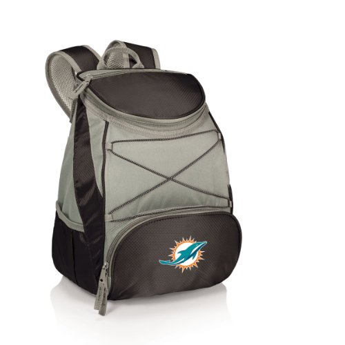 i Dolphins PTX Insulated Backpack Cooler, Black ()