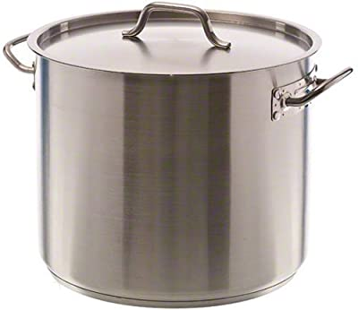 Update International SPS-20 Stock Pot 20 qt Stainless Steel GIFT BOXED by Update Inernational