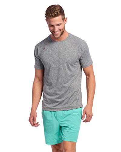 ea0939f450a1 Rhone Reign Short Sleeve Legacy Gray X-Large from Rhone. found at Amazon