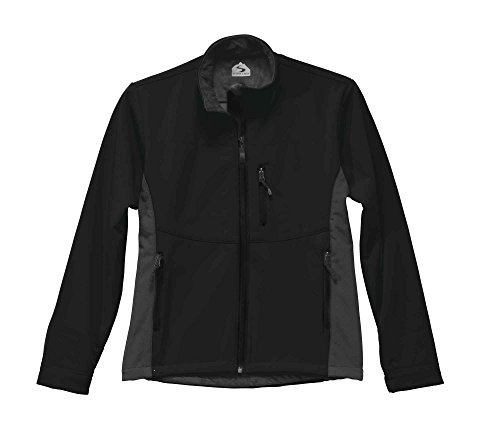 Storm Creek Women's Shayla Velvet Lined Performance Softshell Jacket, Black/Tar, Medium