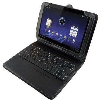 - Motorola Xoom Bluetooth Keyboard Leather Folio Case