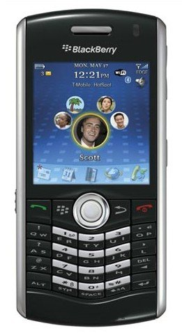 Blackberry Pearl 8120 Unlocked Black Emerald WIFI GSM Phone