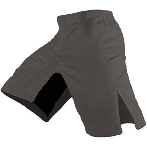 Blank MMA Shorts (Grey, 34)