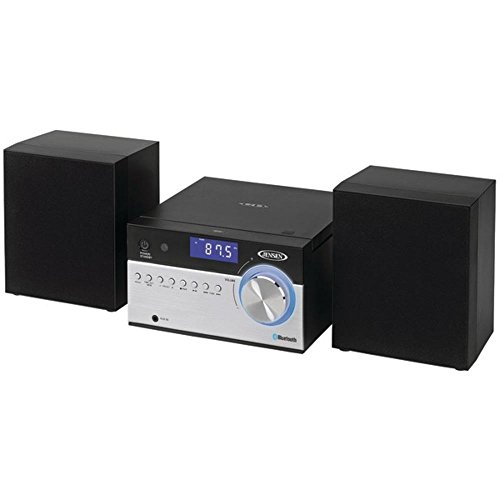 Jensen(R) JBS-200 Bluetooth(R) CD Music System with Digital AM/FM Stereo Receiver