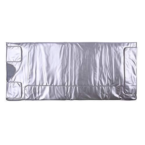 InLoveArts Digital Far-Infrared (FIR) Heat Sauna Blanket with 3 Zone Controller