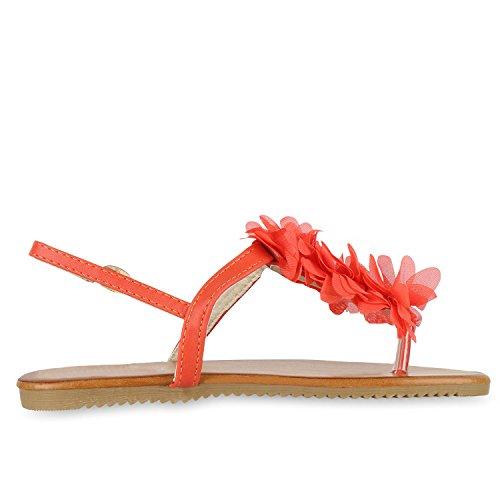 napoli-fashion - Chanclas Mujer Coral Creme