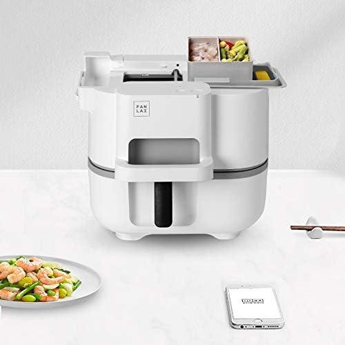 MOSHANG Fabricante de arroz Frito automática Olla programable, Robot de Cocina, eléctrico fritura Wok Máquina automática eléctrica de múltiples Funciones Cocina la máquina: Amazon.es