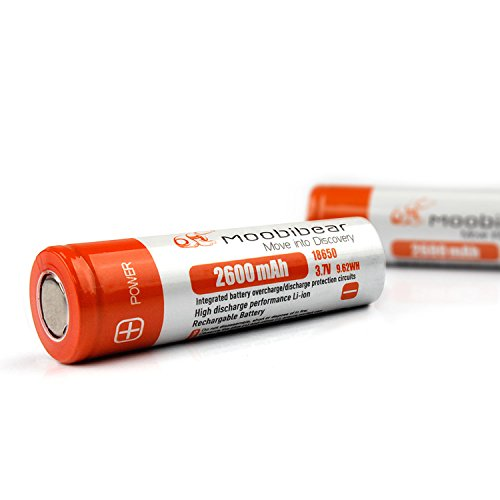 Moobibear Rechargeable Lithium ion Protection Flashlight