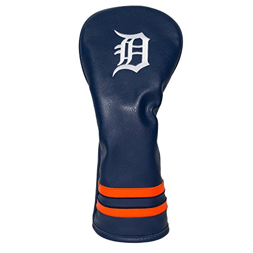 - Team Golf MLB Detroit Tigers Vintage Fairway Golf Club Headcover, Form Fitting Design, Retro Design & Superb Embroidery