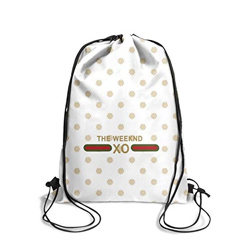 - Handbags Shopping Sports XO-The-Weeknd- Drawstring Bags for Women & Men