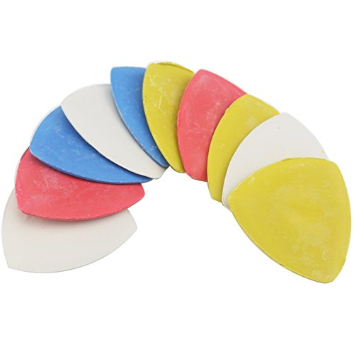 Tailor's Chalk Triangle Tailor's Chalk Sewing 10PC (4 Color) (Tailors Chalk)