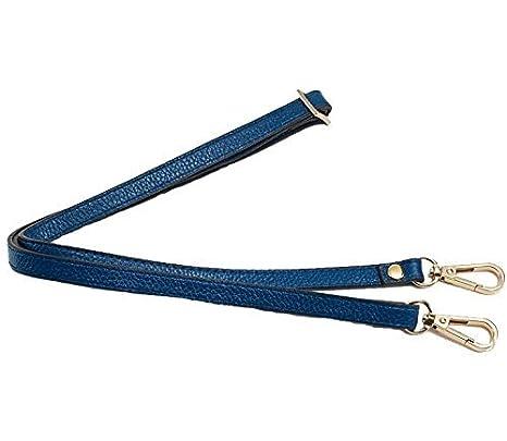12mm Replacement Genuine Leather Purse Straps Adjustable Crossbody Shoulder Handbags Silvertone Buckles 130cm//51.2 , Black W//Silvertone Buckles Adjustable