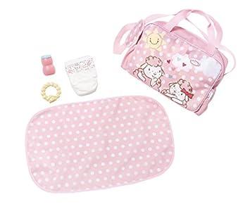 Zapf Baby Annabell Changing Bag Bolsa de pañales para muñecas - Accesorios para muñecas (Bolsa