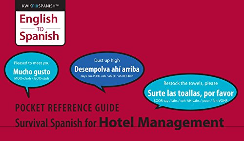 Survival Spanish for Hotel Management by [Rosheim, Ed]