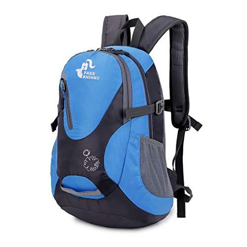 all'aperto per Nylon bicicletta impermeabile spalla Blu alpinismo arancione da per colore Haxibkena borsa Backpack Travel 25l EqP7v7