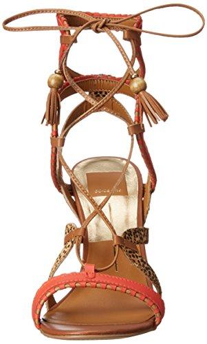 Gladiator Women's Vita Red Orange Multi Dolce Sandal Haven pvt5wqRq