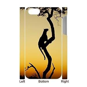 Africa DIY 3D Case for Iphone 4,4S, 3D Custom Africa Case