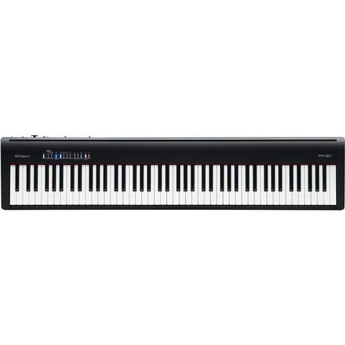 Roland Supernatural Digital Portable Piano, Black (FP-30-BKC)